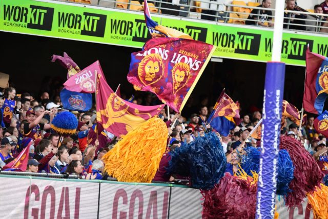 Brisbane Lions supporters football